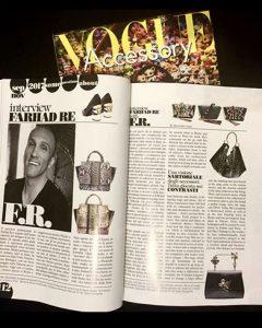 Farhad Re Vogue intervista