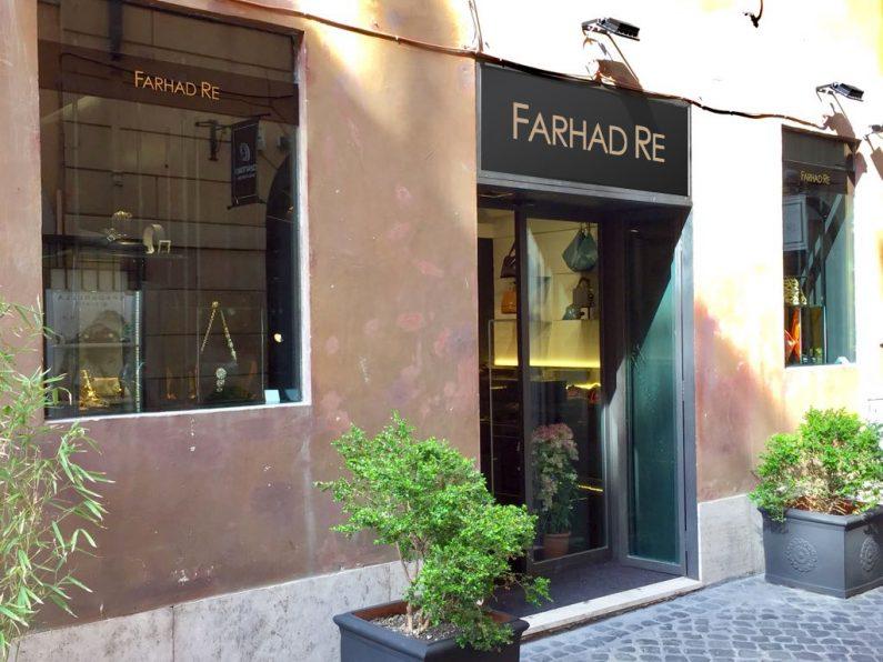 Farhad Re - Boutique Insegna